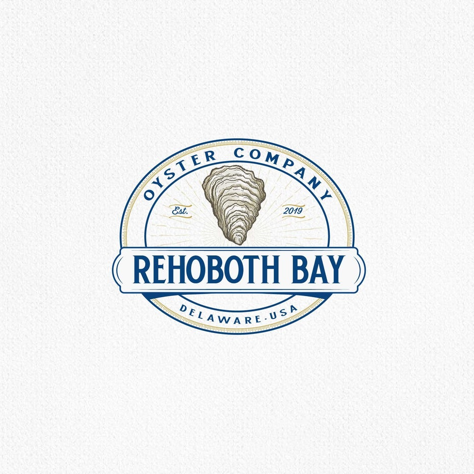 Logo for Rehoboth Bay Oyster Company