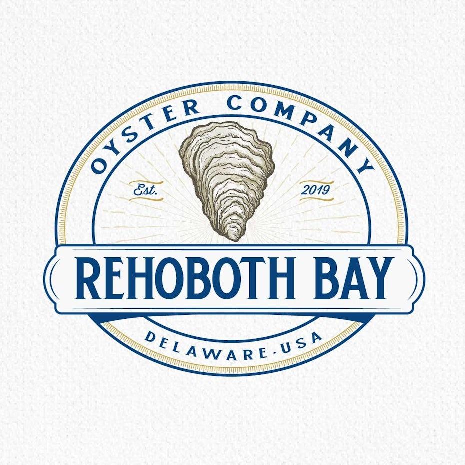Logo for Rehoboth Bay Oyster Company