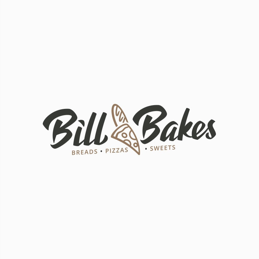 Bill Bakes Pizza Baguette logo