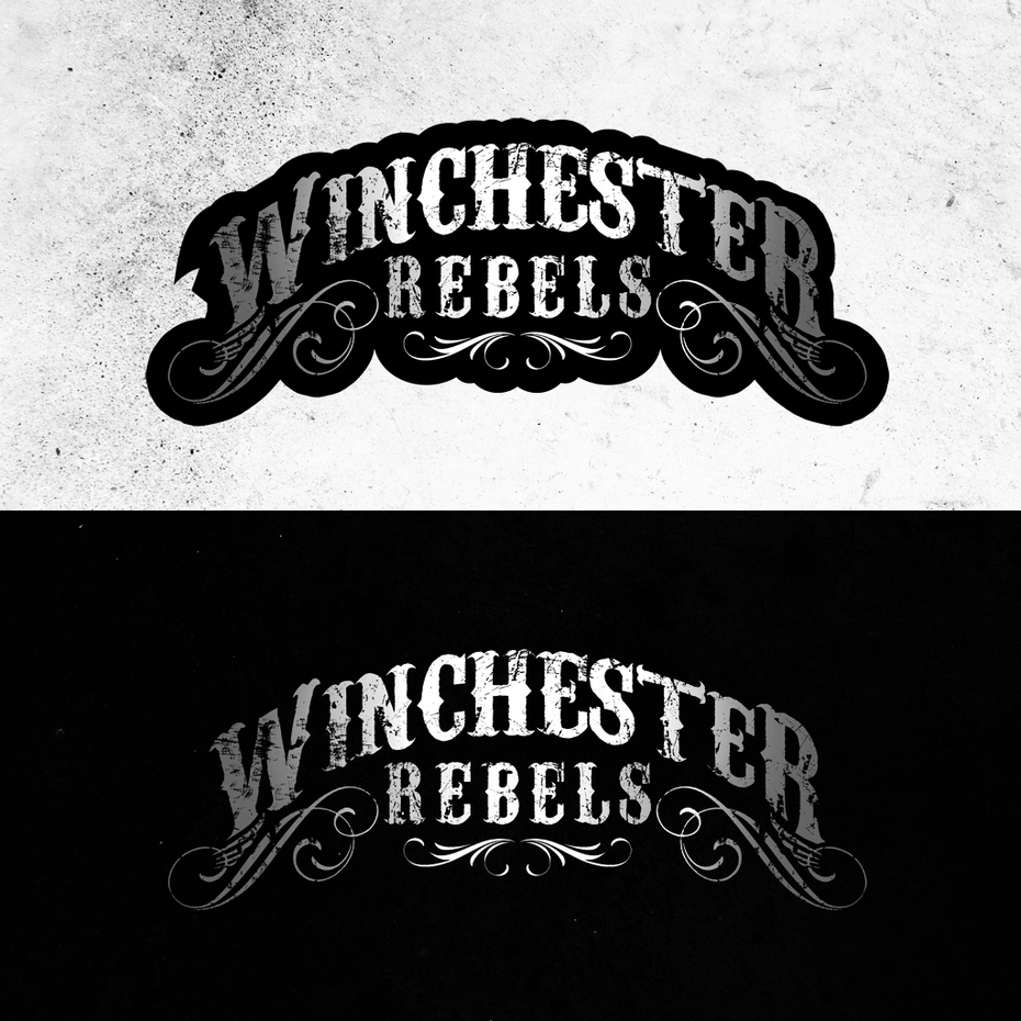 Winchester Rebels band-logo