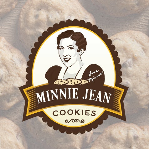 Minnie Jean Cookies logo