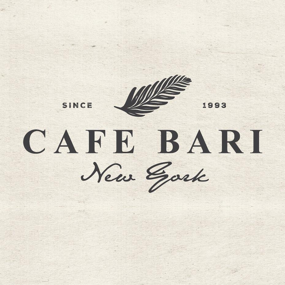 Logo for Cafe Bari