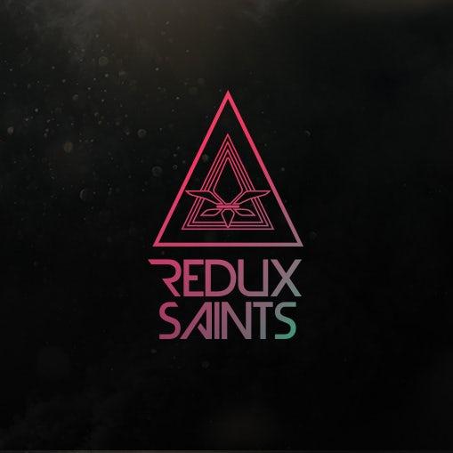 modern triangle band logo