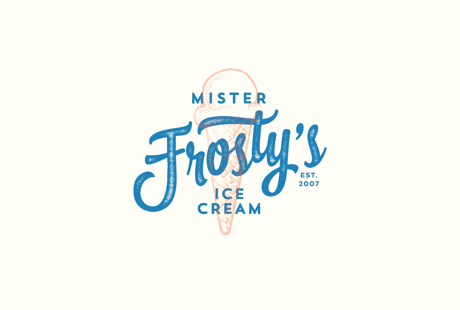 Mister Frosty's Ice Cream logo