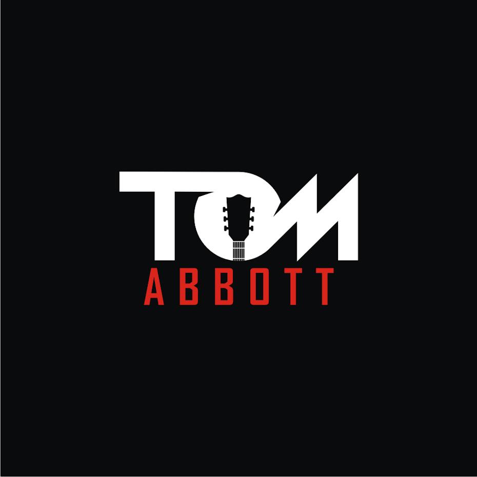 simple cool musician logo