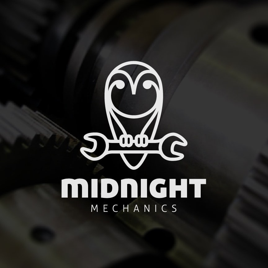 Midnight Mechanics logo