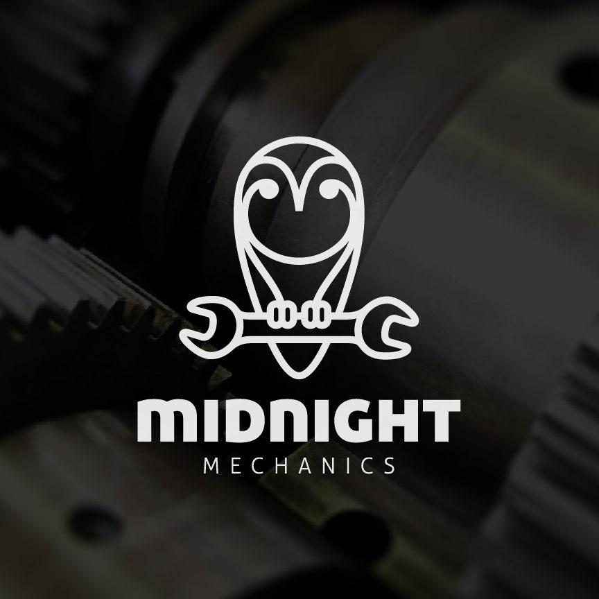 Design de logo de Midnight Mechanics