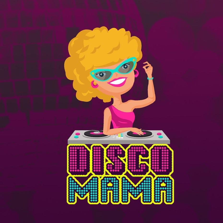 Disco Mama band logo
