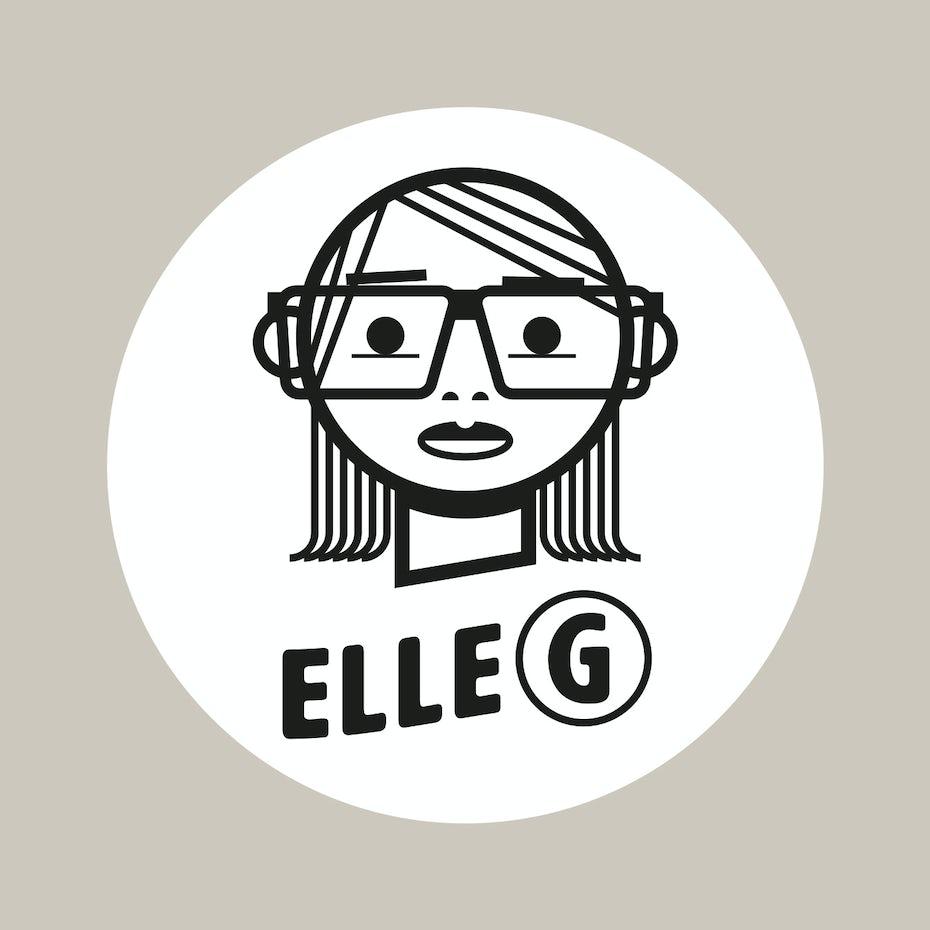 Elle G logo