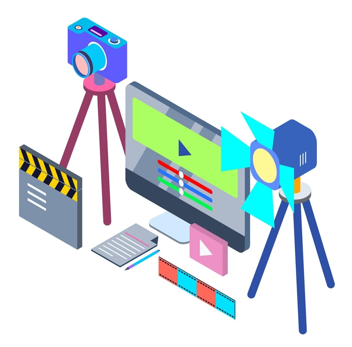 Video Tools and video equipment