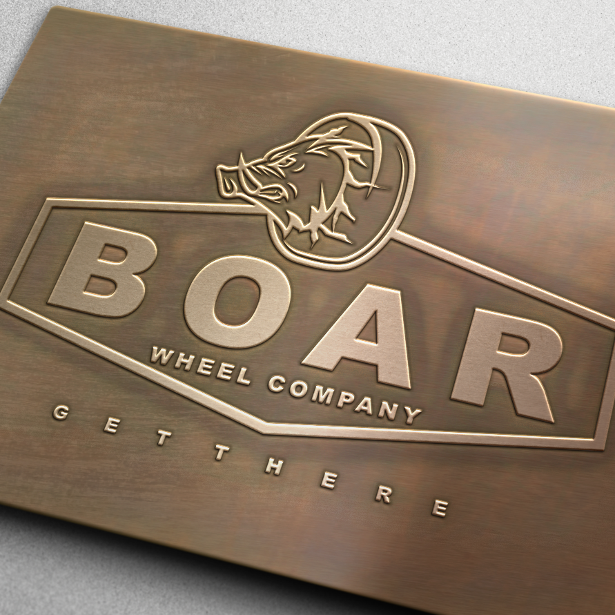 Boar Wheel Company logo