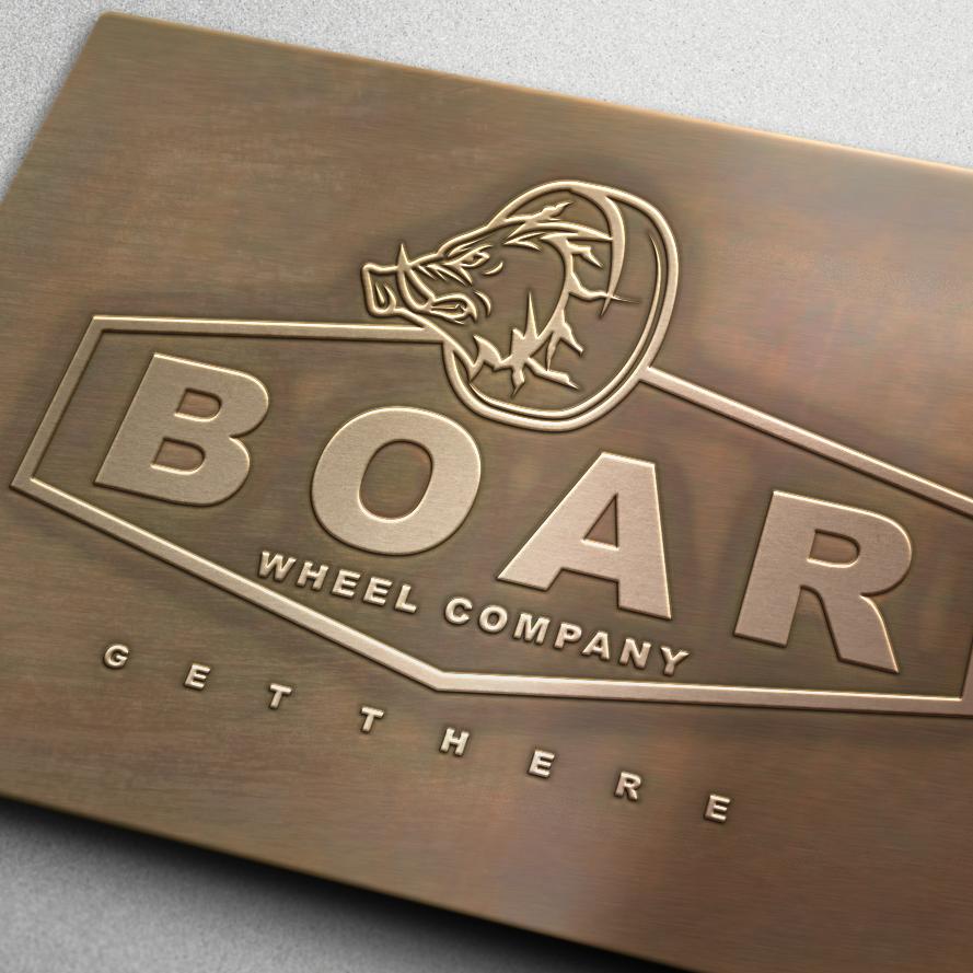 Boar Wheel Company logo