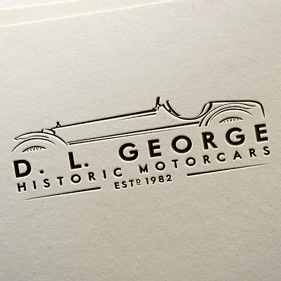 Logo for D. L. George Historic Motorcars