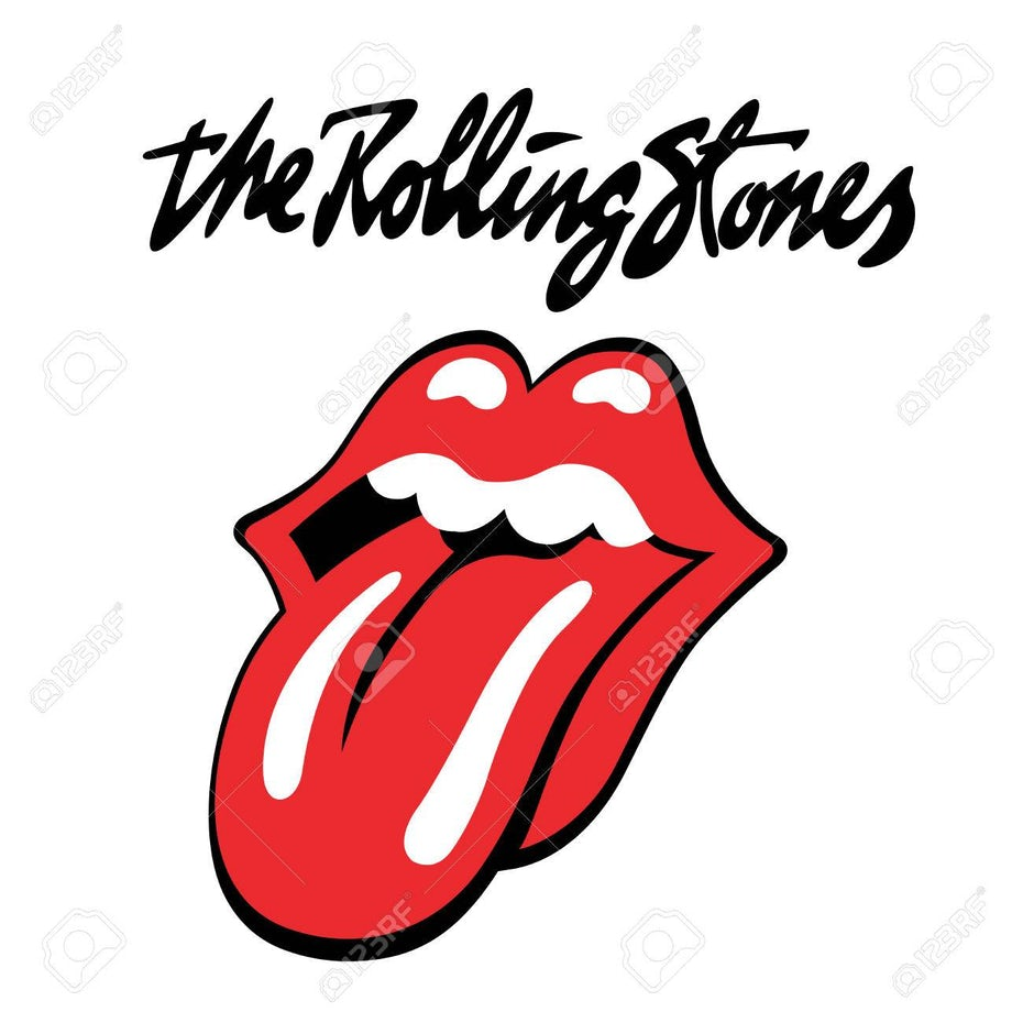 The Rolling Stones band-logo