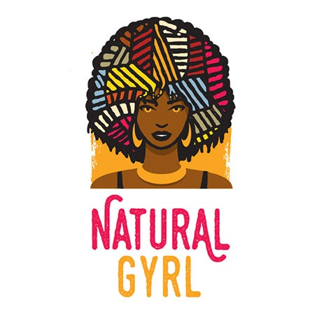colorful afro salon logo