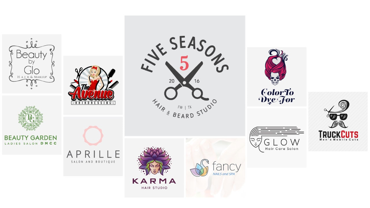 31 Salon Stylist Hairdresser Logos That Will Make You Look Your Best 99designs