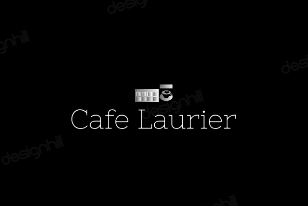 Cafe logo designed in a logo maker template program