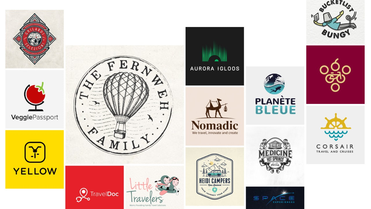 36 Amazing Travel Logos That Take You On An Adventure 99designs