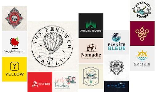 36 amazing travel logos that take you on an adventure