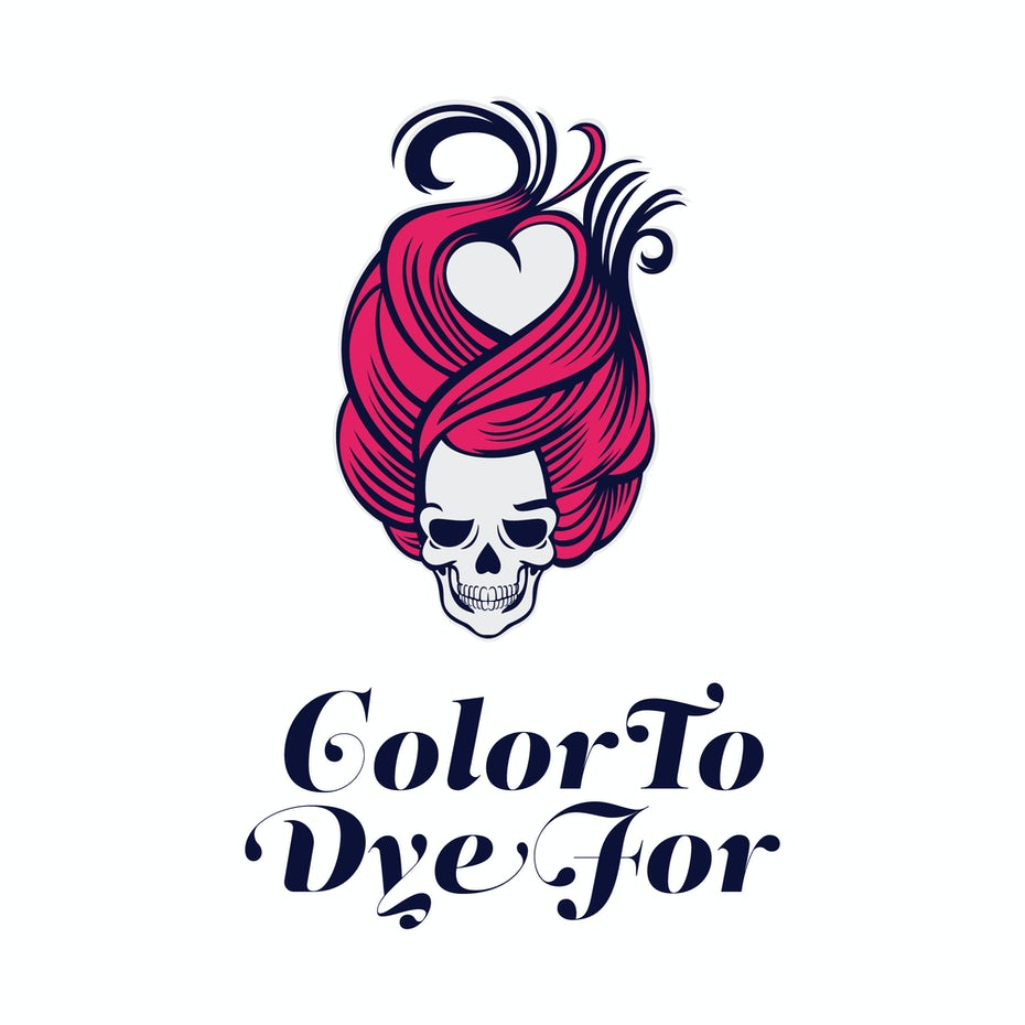 Color to Dye For Logo