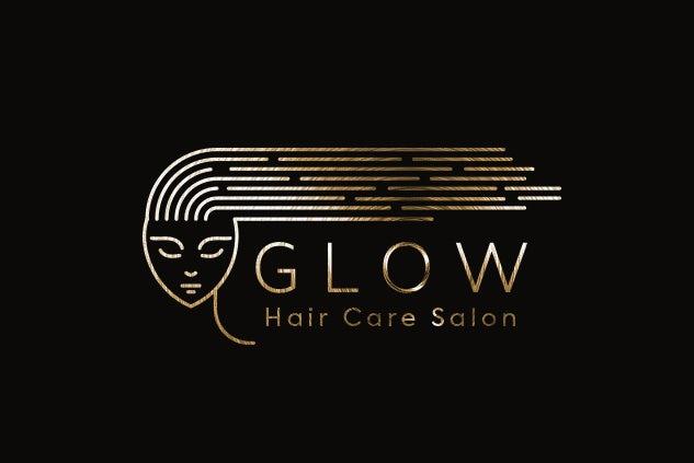 calming and relaxing salon logo