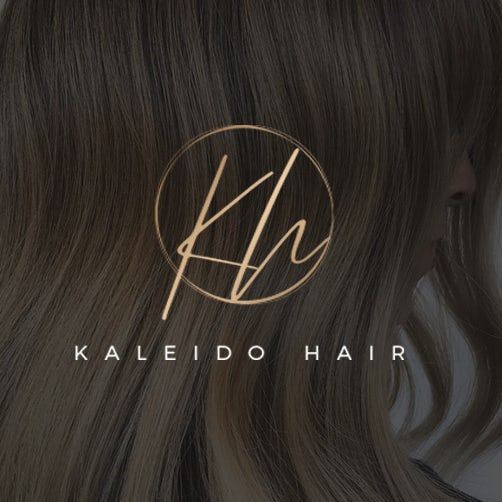 minimal handlettered salon logo