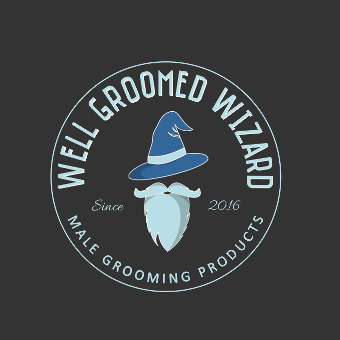 Logo with wizard mascot