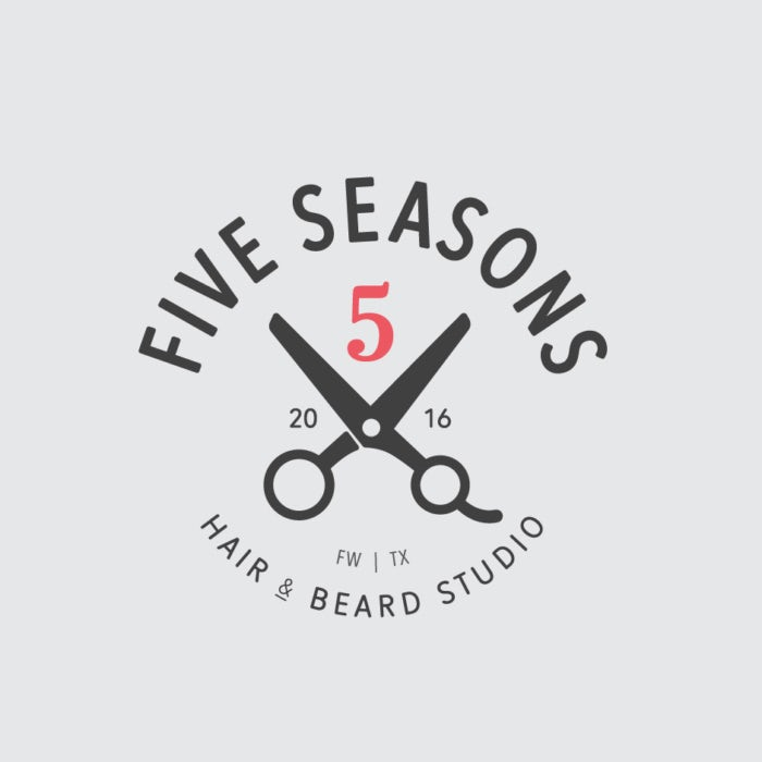 Five Seasons Hair & Beard Studio Logo