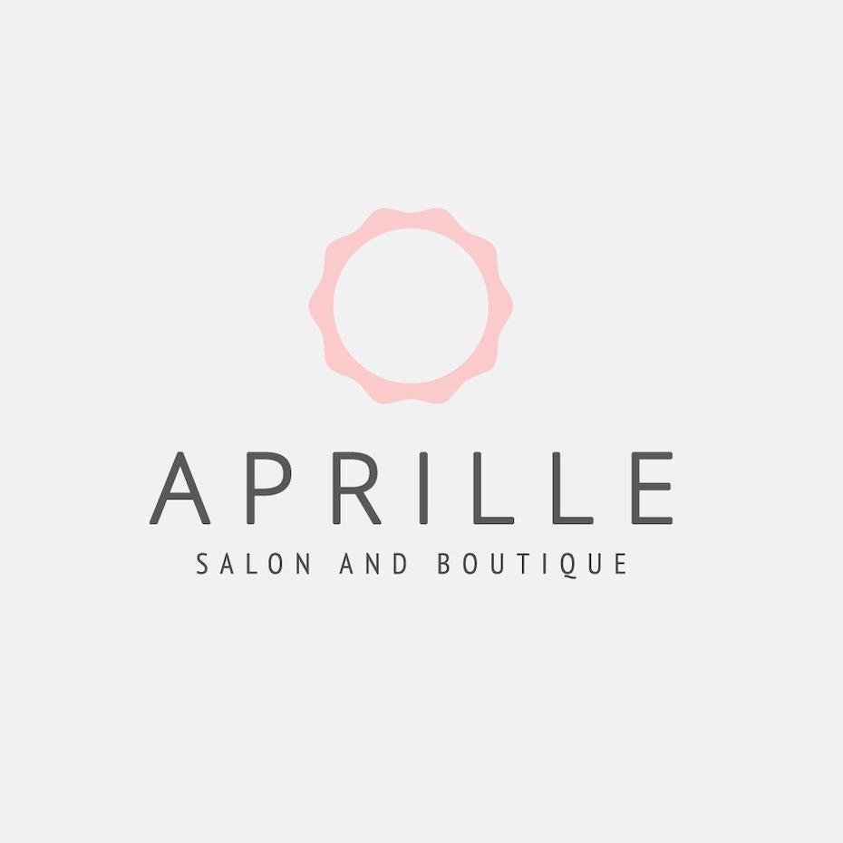 Aprille Salon Logo