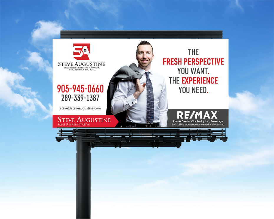 billboard for luxury realtor