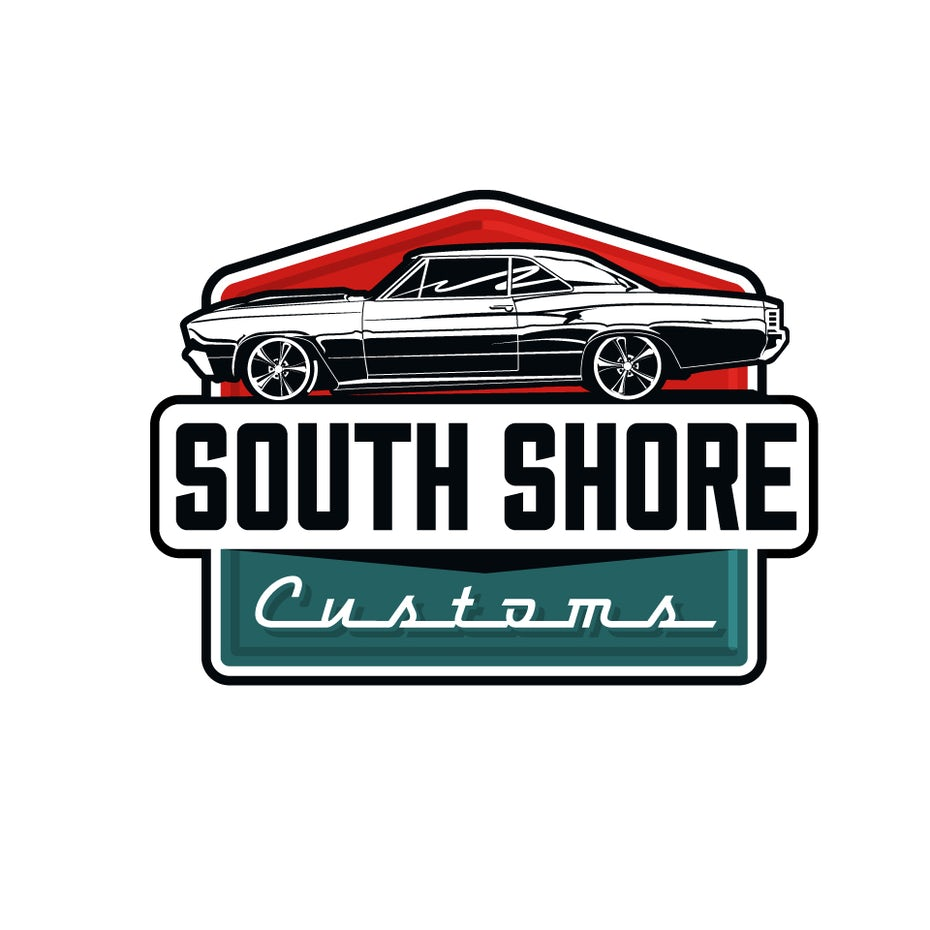 simple classic vintage car logo