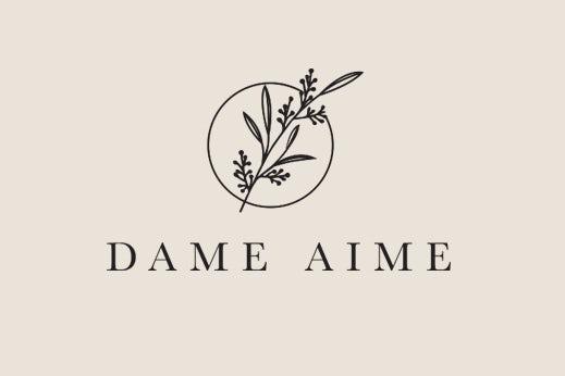 elegant simple floral salon logo
