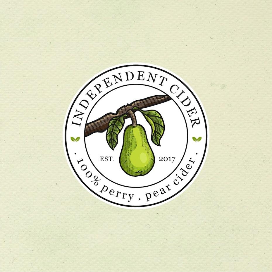 pear cider logo