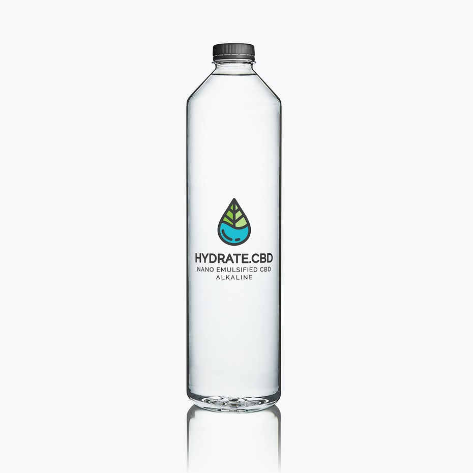 blue green cbd drink logo