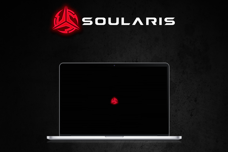 Slick logo design for a brand of gaming equipment targeting PC gamers