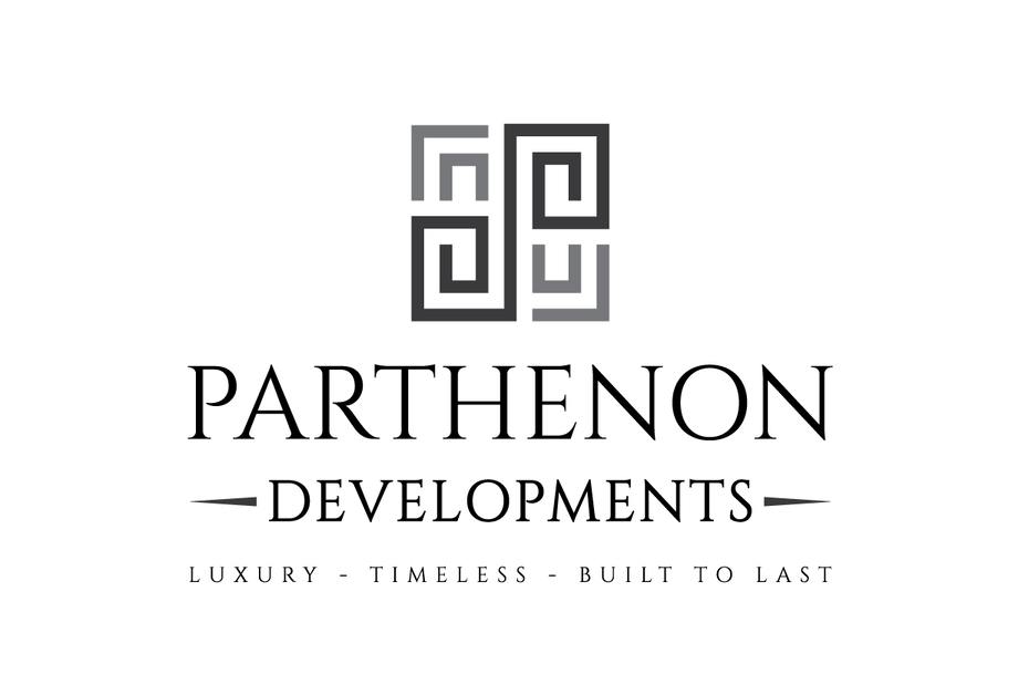 "Four mirror image patterns facing each other in a grid with the text ""Parthenon Developments"""