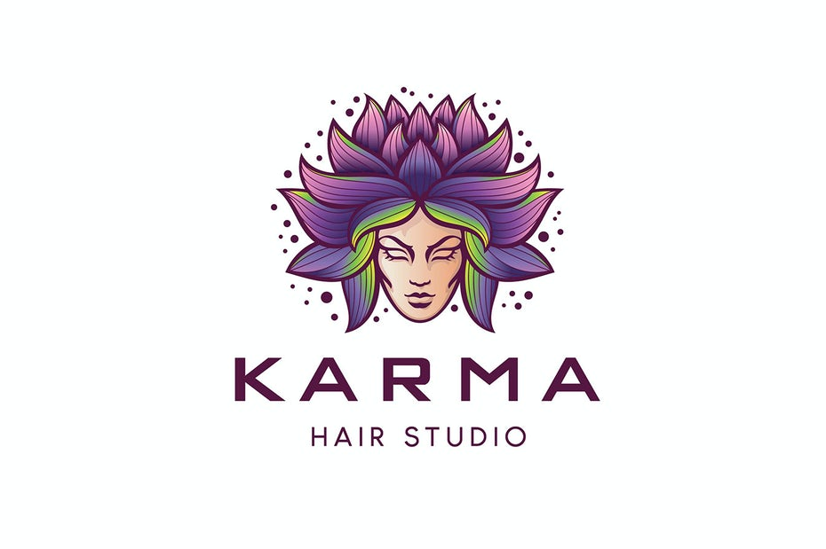 Karma Hair Studio Logo