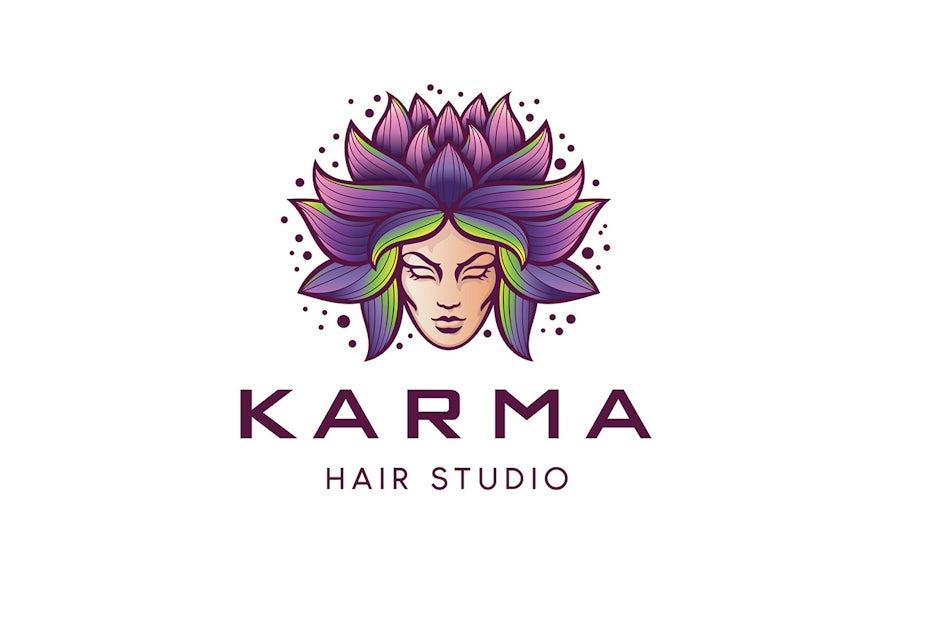 Karma Hair Studio Logo