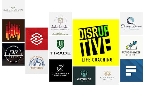 31 consulting logos that'll put your brand on the path to success