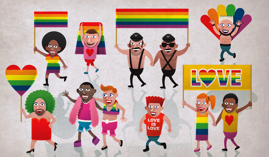9 ways to use the rainbow in graphic design