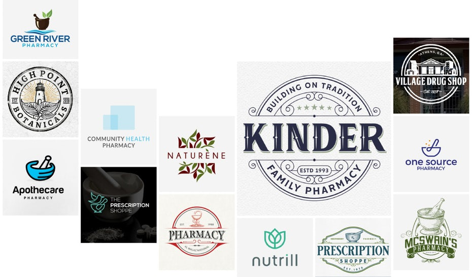 24 pharmacy logos that promote healthy business growth