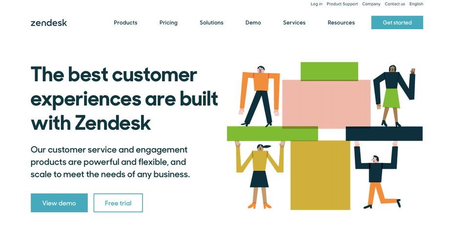 zendesk homepage customer service support