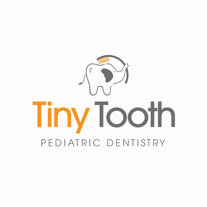 elephant and tooth dentist logo