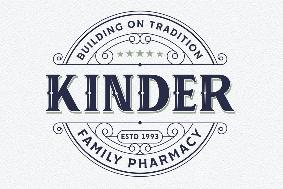 Kinder Family Pharmacy logo