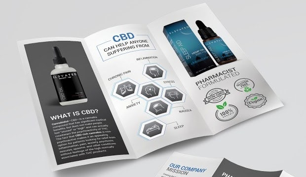 CBD brochure design