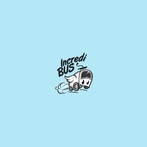 bus with wings logo