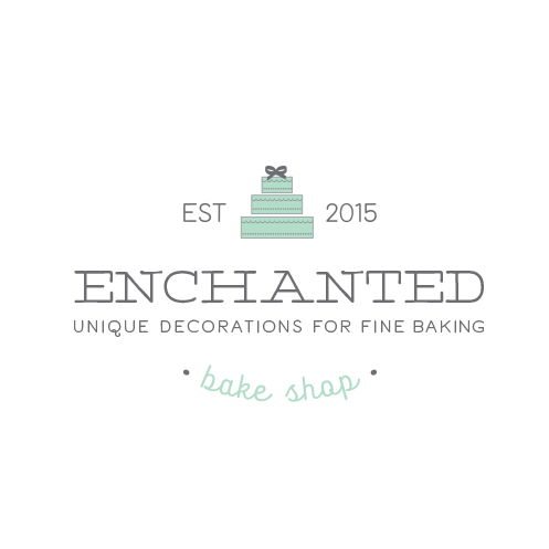 wedding caterer dreamy cake logo