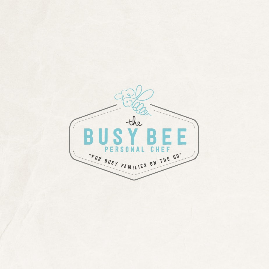 The Busy Bee personal chef logo