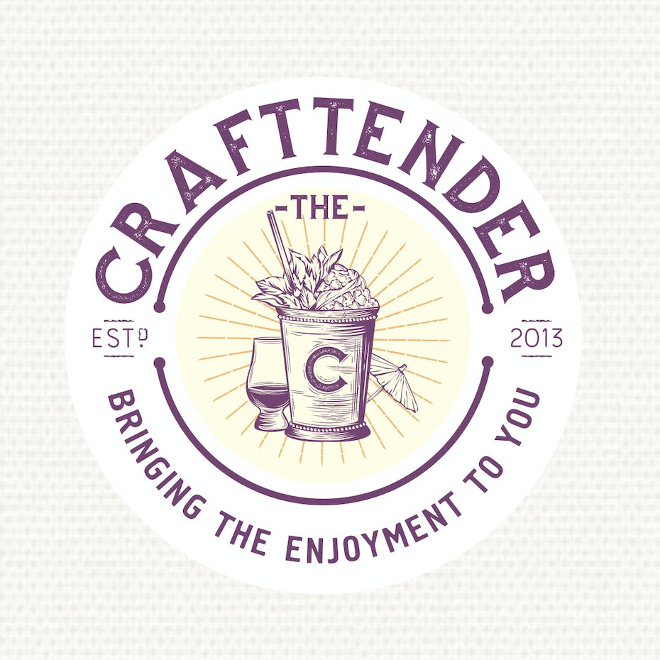 Craftender beer logo