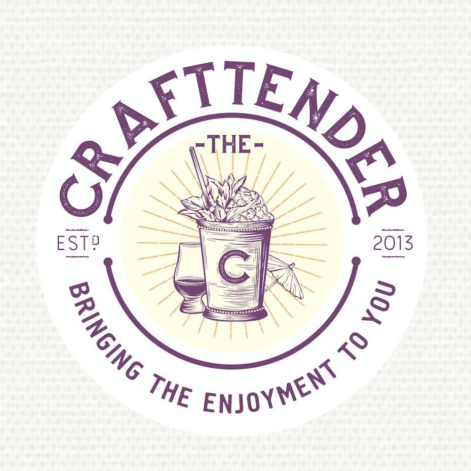 Craftender beer logo
